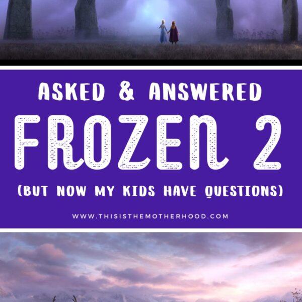 Frozen 2 no spoilers